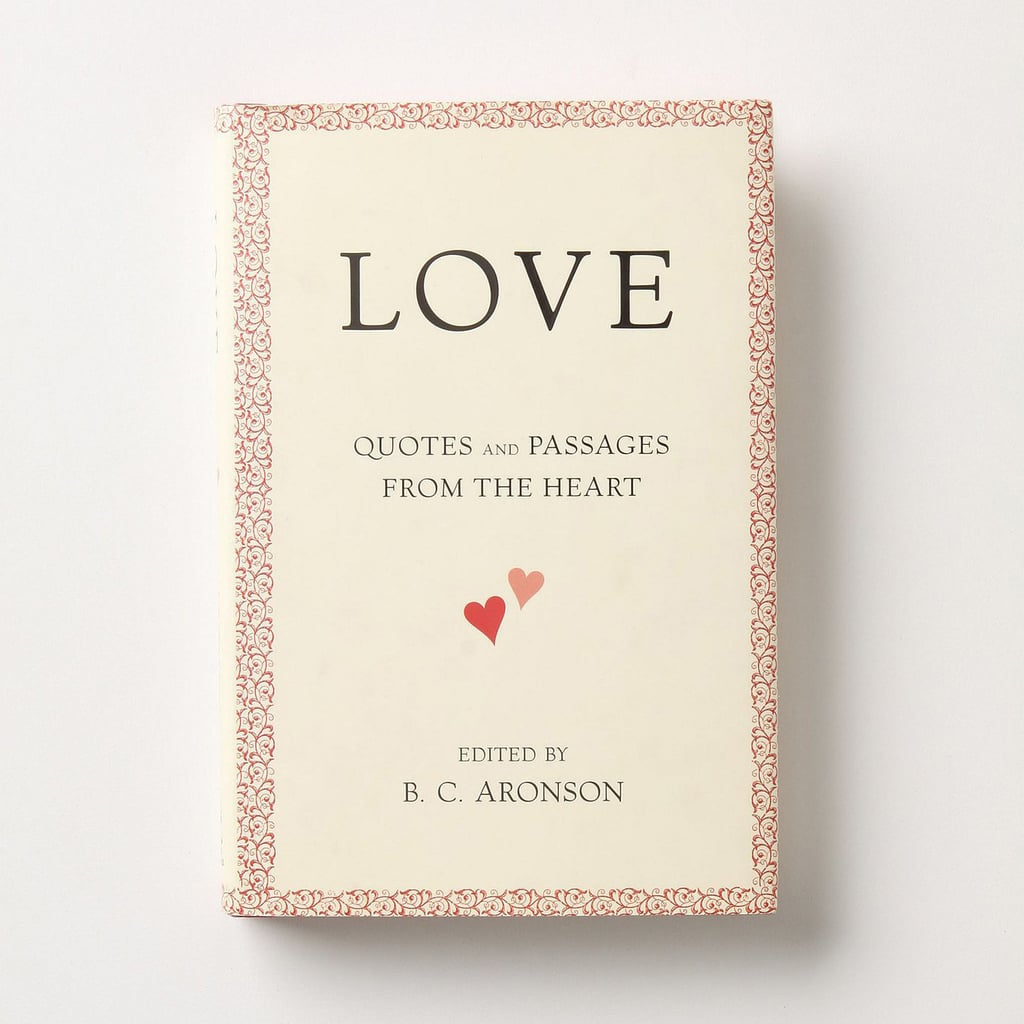 Book Love Quotes Love Quotes And Passages From The Heart  Books To Give For