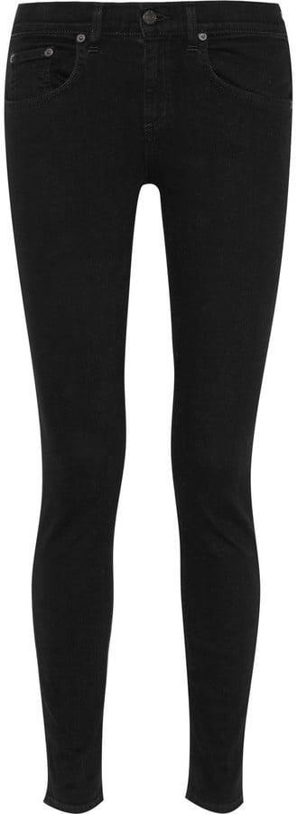Rag & Bone High-Rise Skinny Jeans ($185)