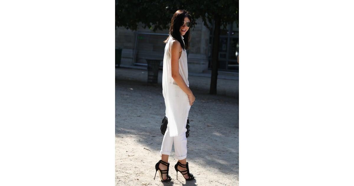 Spring 2012 Paris Fashion Week Street Style Day 2