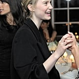 Mia Wasikowska made the rounds at a bash benefiting Oxfam and the Green Carpet Challenge.