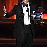 Homeland's Damian Lewis won the Emmy for outstanding lead actor in a drama.