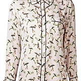 Flamingo-Print Top