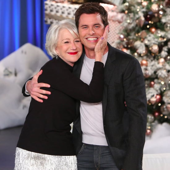 James Marsden Meeting Helen Mirren on The Ellen Show 2016