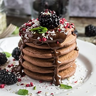 Healthy Chocolate Chia Pancake Recipe