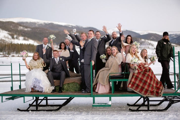 33 Ways to Keep Everyone Warm and Dry at Your Fall or Winter Wedding