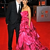 Thandie Newton and Ol Parker at the BAFTA Awards, 2011