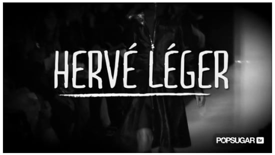 Herve Leger Fall 2011 Collection Runway Video