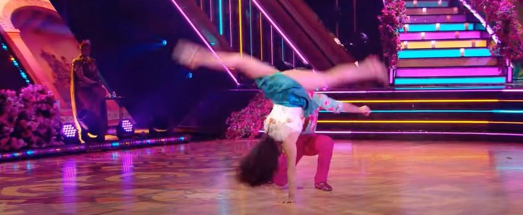 DWTS: Suni Lee Flips Over Sasha Farber to Encanto Song
