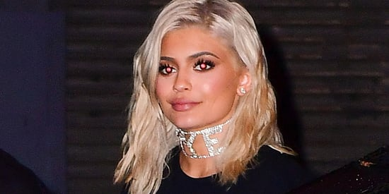 Kylie Jenner Went Platinum Blonde For Real This Time
