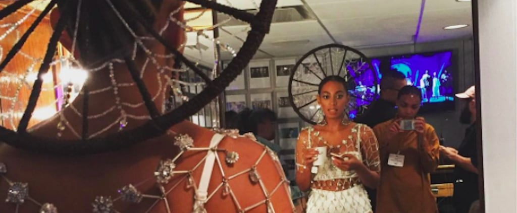 Solange's Stunning Braided Halo on SNL Took Over 40 Hours to Make
