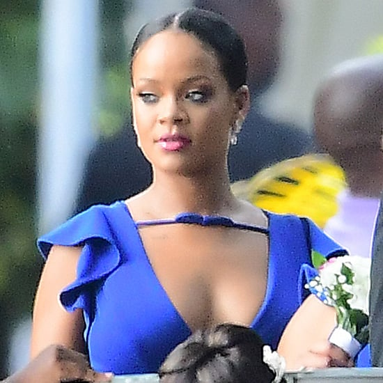 Rihanna at a Friend's Wedding Pictures August 2018