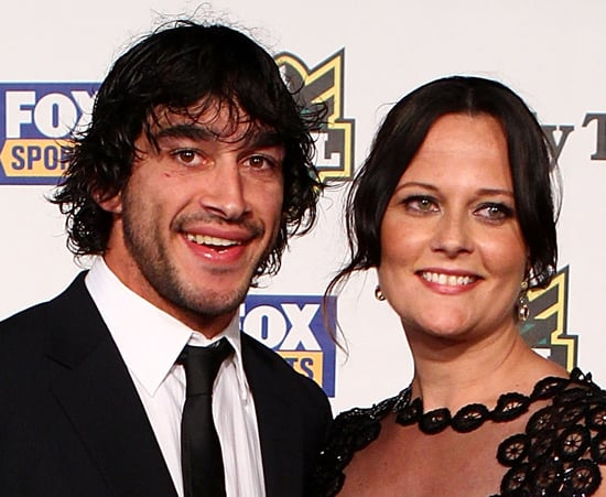 Johnathan Thurston and Samantha Lynch