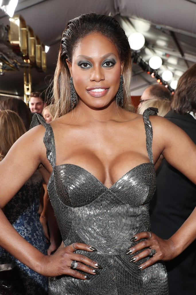 Laverne Cox at the Emmy Awards