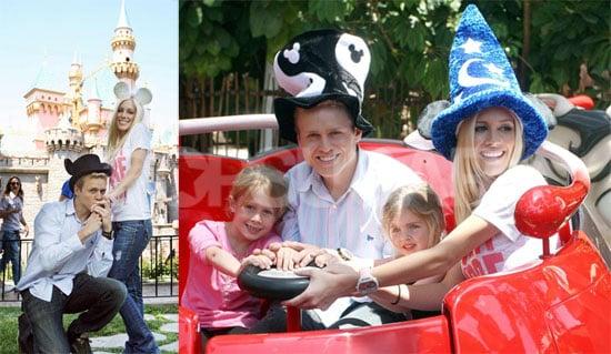 Heidi Montag and Spencer Pratt at Disneyland