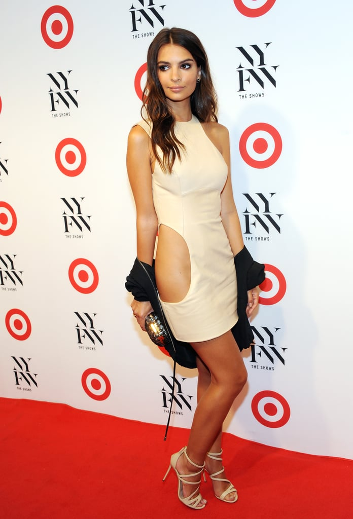 """Emily Ratajkowski Spun Around in This Dress and Introduced Us to """"Side Butt"""""""