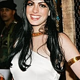Anne Hathaway was Cleopatra at Heidi Klum's 2004 Halloween party.