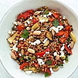 Wheat Berry Salad With Roasted Fennel and Bell Peppers