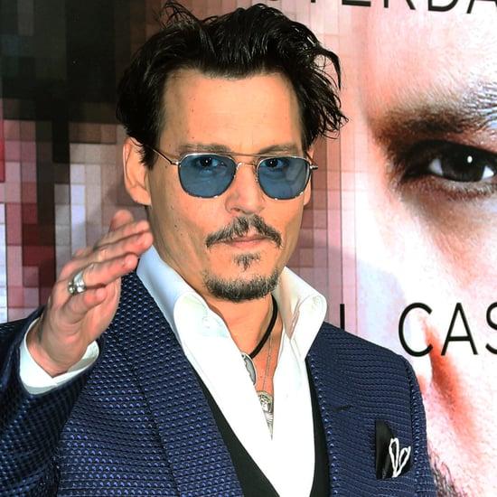 Johnny Depp at the Transcendence Premiere   Video