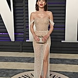 Emma Roberts at the 2019 Vanity Fair Oscar Party