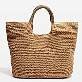 Brighty Straw Tote Bag