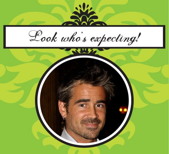 Colin Farrell Expecting a Baby