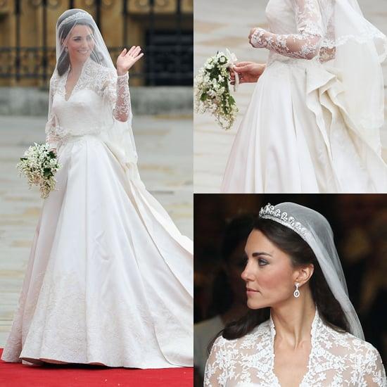 Kate Middleton\'s Wedding Dress | POPSUGAR Fashion Middle East