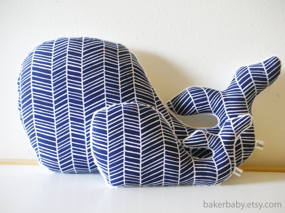 Baker Baby Whale Pillows