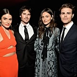 Pictured: Ian Somerhalder, Nikki Reed, Paul Wesley, and Phoebe Tonkin