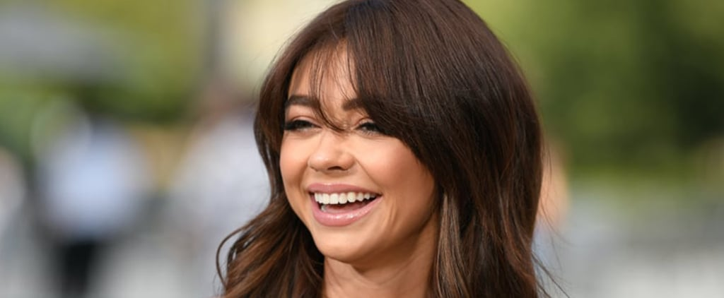 Sarah Hyland's Bangs Haircut is Perfect For Fall