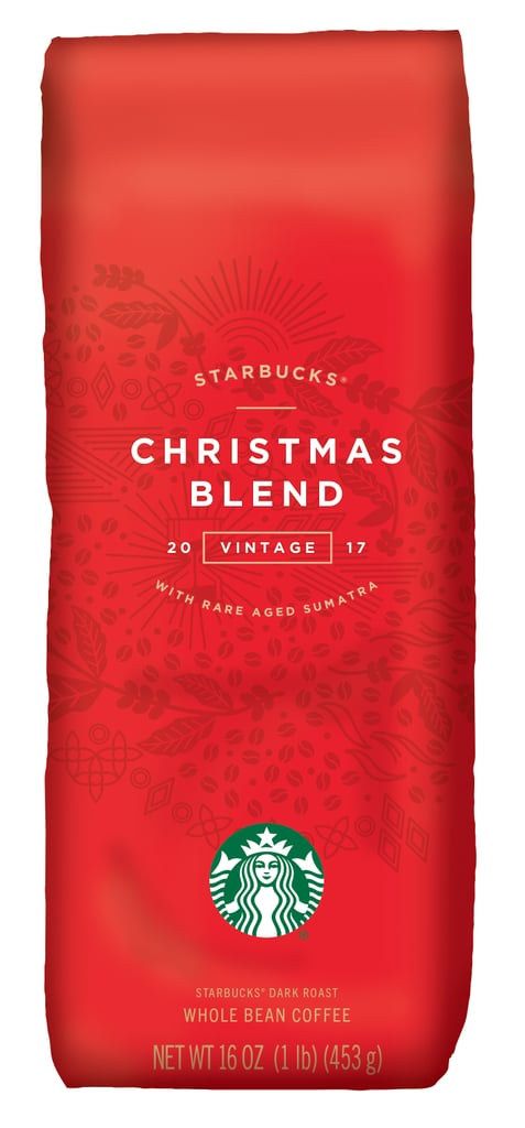 Starbucks Christmas Blend Vintage 2017 ($15) | Starbucks Holiday ...