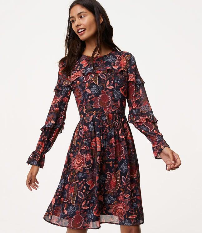 ef156ba7a846 LOFT Hydrangea Bouquet Dress