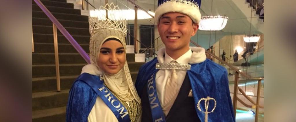 Muslim Teen Wins Prom Queen