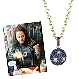 """@spivey_e Star-Spangled Necklace ($9,500) """"I'm nonstop obsessed with all jewelry by Finn.Especially this starry ball. I love starry balls."""""""