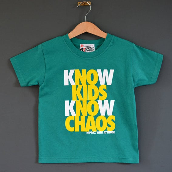 Know Kids Know Chaos T-Shirt