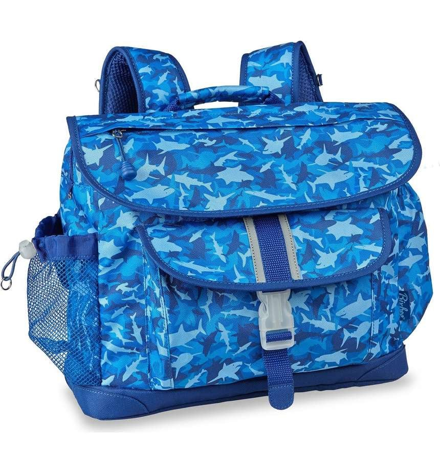 Shark Camo Water Resistant Backpack