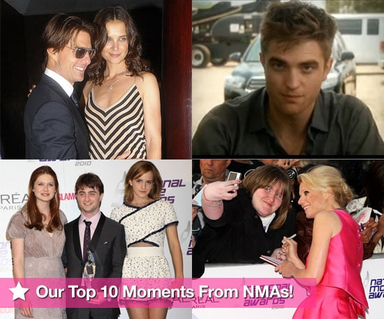 Highlights From the National Movie Awards 2010 Featuring Pictures of Tom Cruise, Katie Holmes, Joshua Jackson, Robert Pattinson