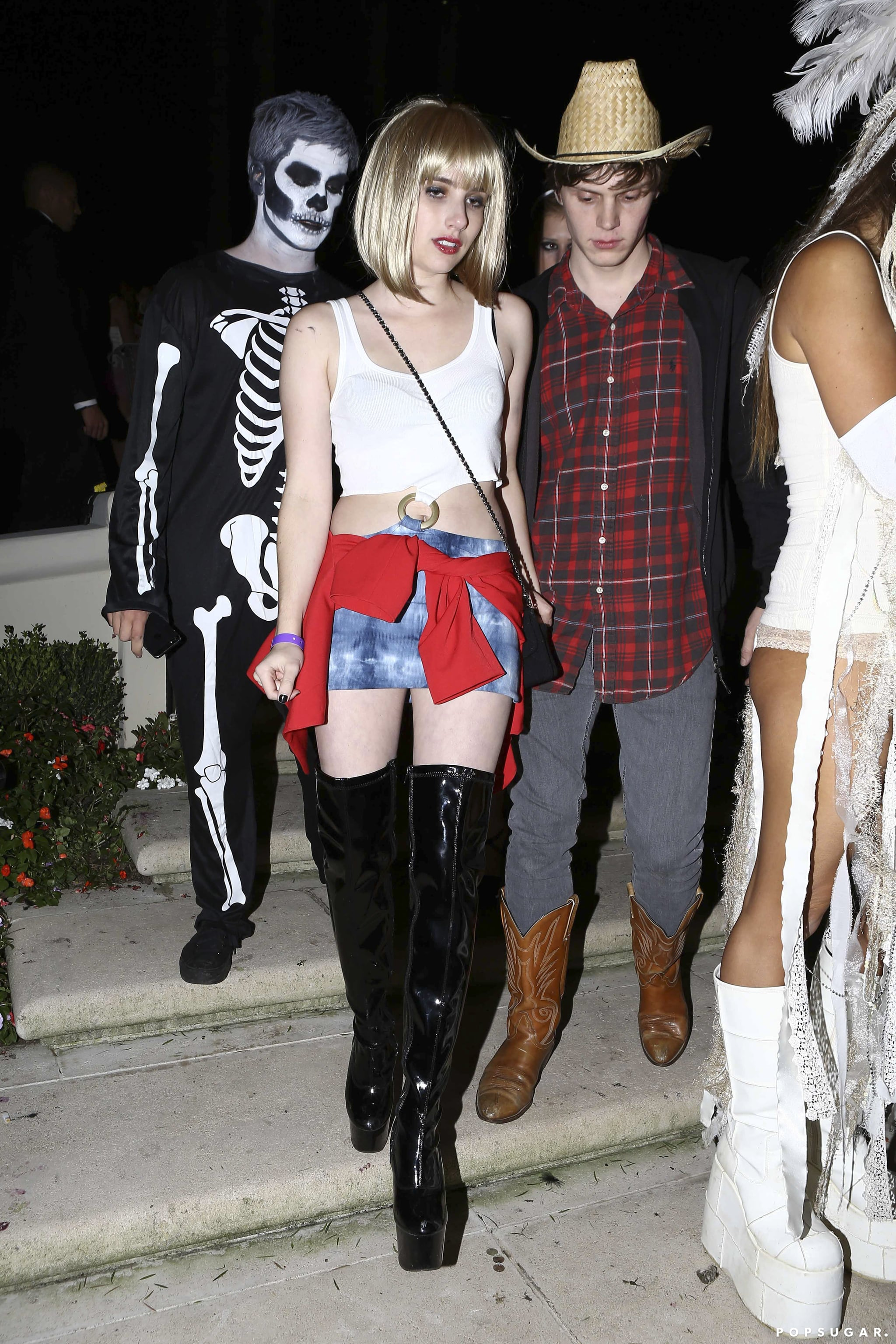 Emma Roberts As Vivian Ward 17 Years Of Supersexy Celebrity Halloween Costumes Popsugar Celebrity Photo 14