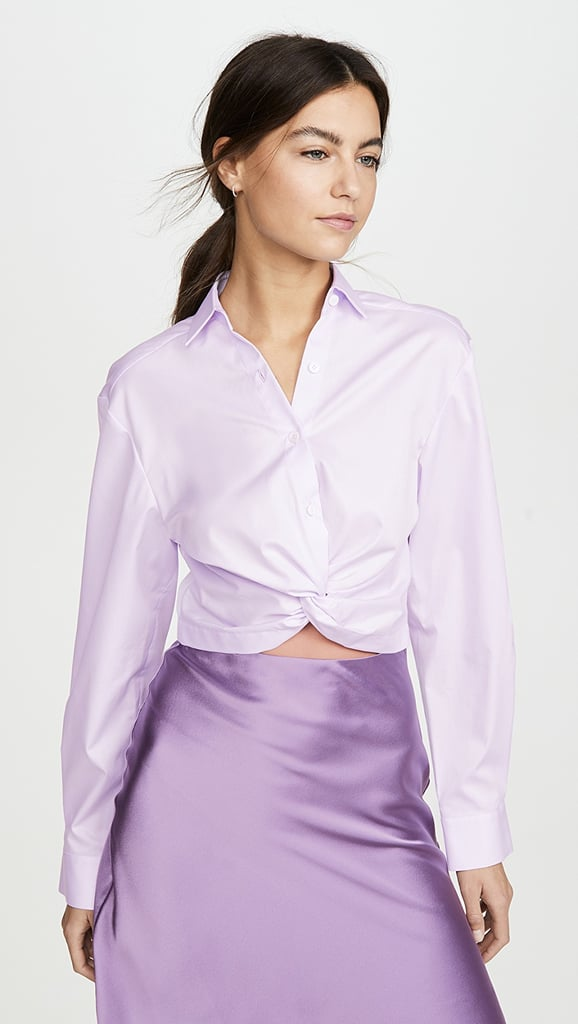 Dion Lee Twist Placket Shirt