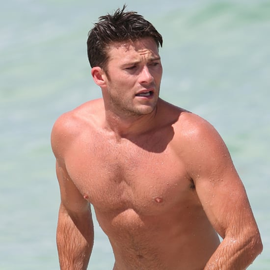 Scott Eastwood Shirtless in Miami July 2016