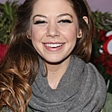 Analeigh Tipton smiled on the red carpet in NYC.