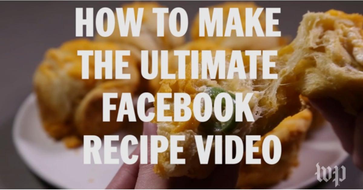 Facebook video recipe formula popsugar middle east food forumfinder Images