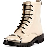 Alexander Wang Lyndon Box Calf Combat Boot ($750)
