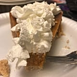 When Paired With a Hearty Serving of Whipped Cream, the Pie Is *Chef's Kiss*