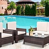 Patio Furniture Set 4 Pieces Outdoor Conversation Set