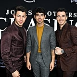 June: The Jonas Brothers Attended the Premiere of Chasing Happiness