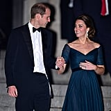 In December 2014, Will and Kate held hands while leaving the St. Andrews 600th Anniversary Dinner at the Met in NYC.