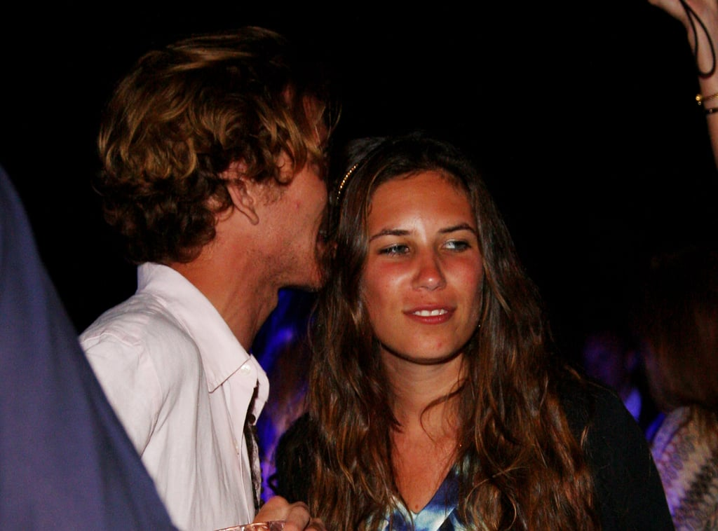 Andrea and Tatiana attended a party in Porto Ercole, Italy, in 2009.