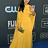 Awkwafina at the 2020 Critics' Choice Awards