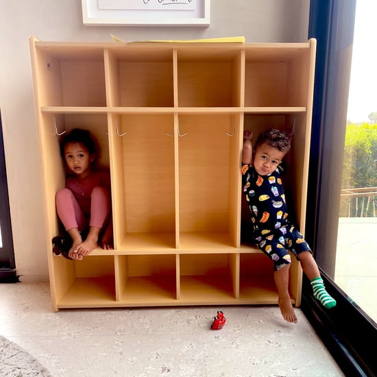 Chrissy Teigen Shared Photos of Her At-Home Classroom