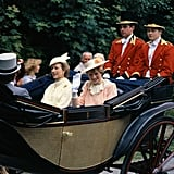 Princess Diana used the Ascot Landau carriage numerous times over the years.